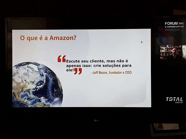 O varejista e o e-commerce na apresentação de Alex Szapiro da Amazon